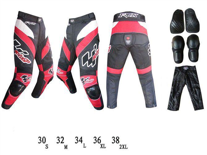 Мотоциклетные штаны FOX GP (красный)