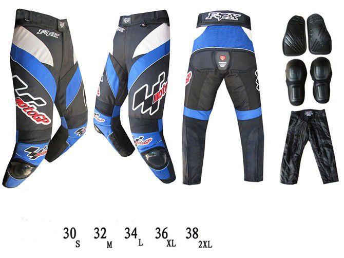 Мотоциклетные штаны FOX GP (синий)
