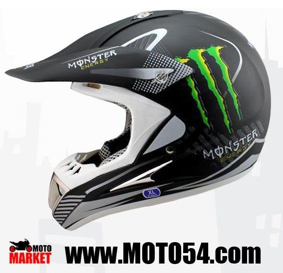 Шлем Kawasaki monster energy HD-802