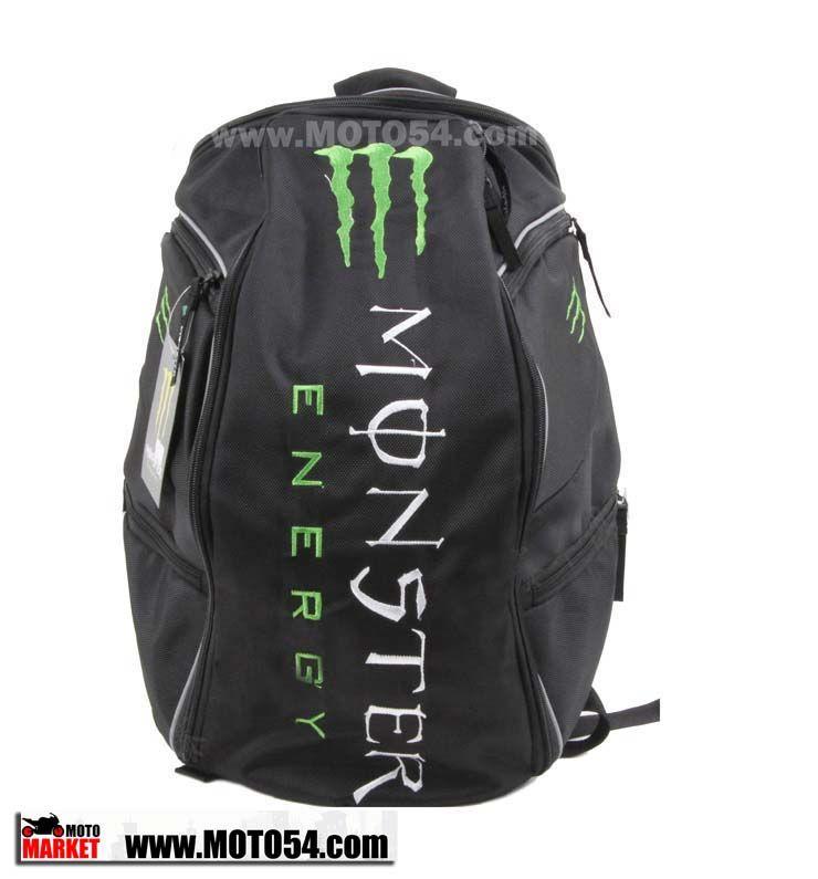 Мото рюкзак Kawasaki Monster Energy