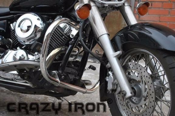 [CRAZY IRON] Дуги для Yamaha XVS650 Dragstar Classic / V-Star Classic 1998-2010