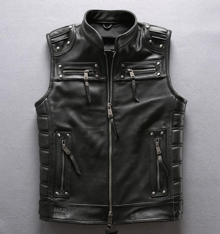 Мотожилет кожаный Harley Davidson - Harley Angel 97181